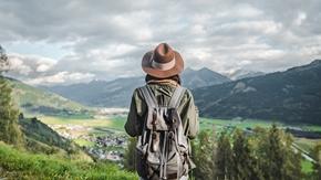 young traveler in austria KBT6CGF