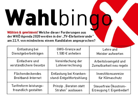 Wahlbingo